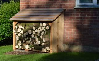 Log Stores and Wood Storage -Classic A1 Log Store