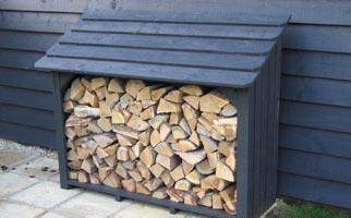 Superior Log Stores And Wood Storage   Classic A1 Log Store